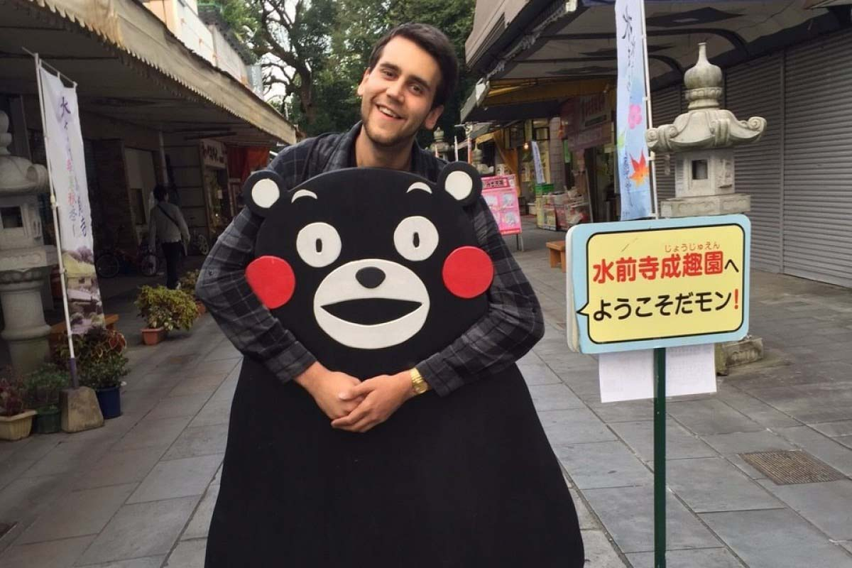 Is Kumamoto overflowing with bears?!? Everybody loves Kumamon. <Travel Diary of an American Exchange Student: Part 5>