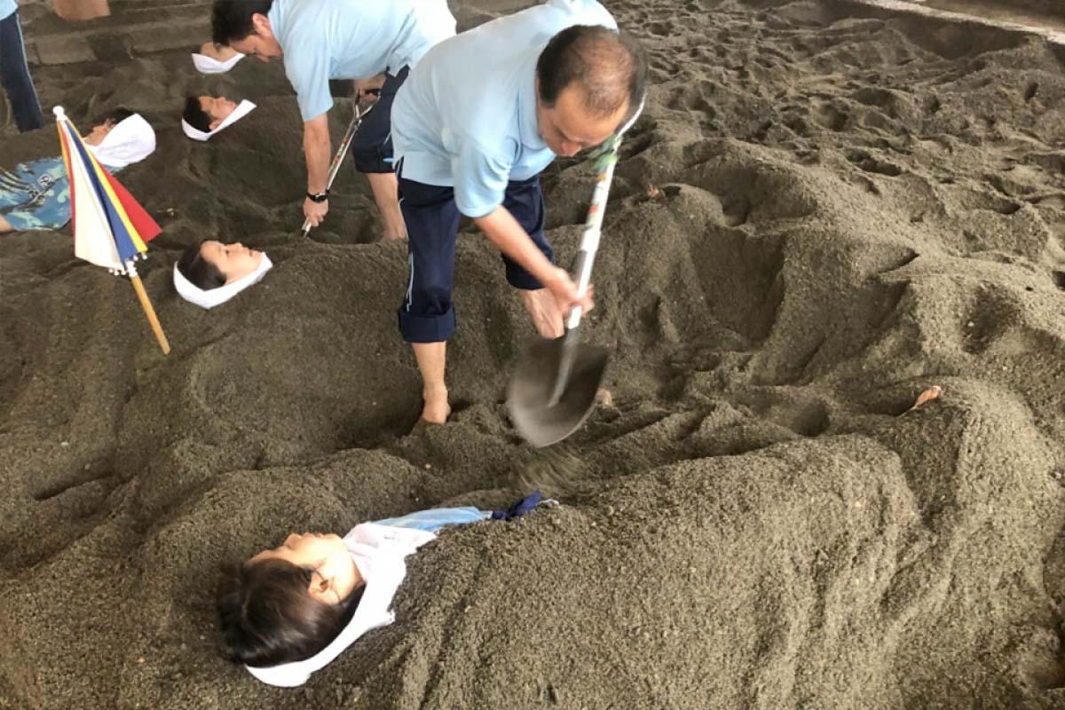 Sand Bath Hall Saraku