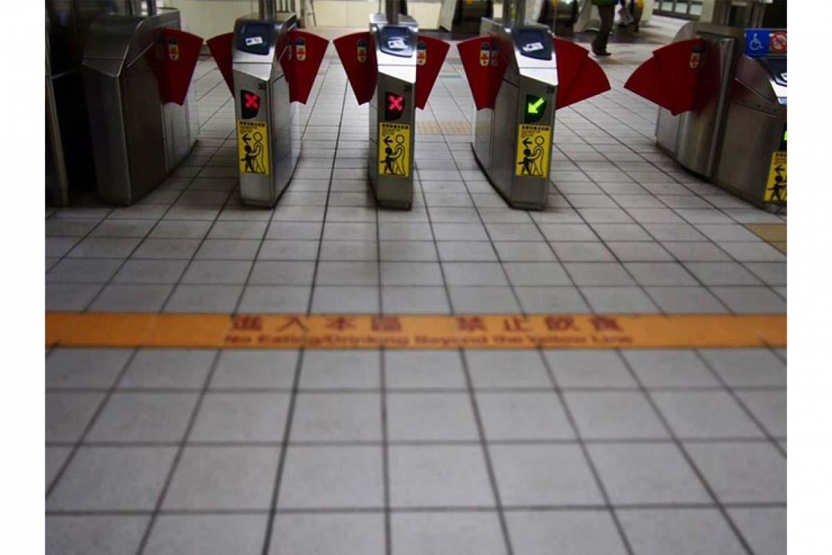 捷運站剪票口