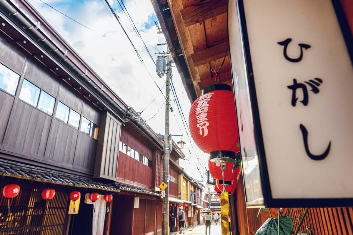 淺談日本茶屋文化-非同小可的金澤「東茶屋街」