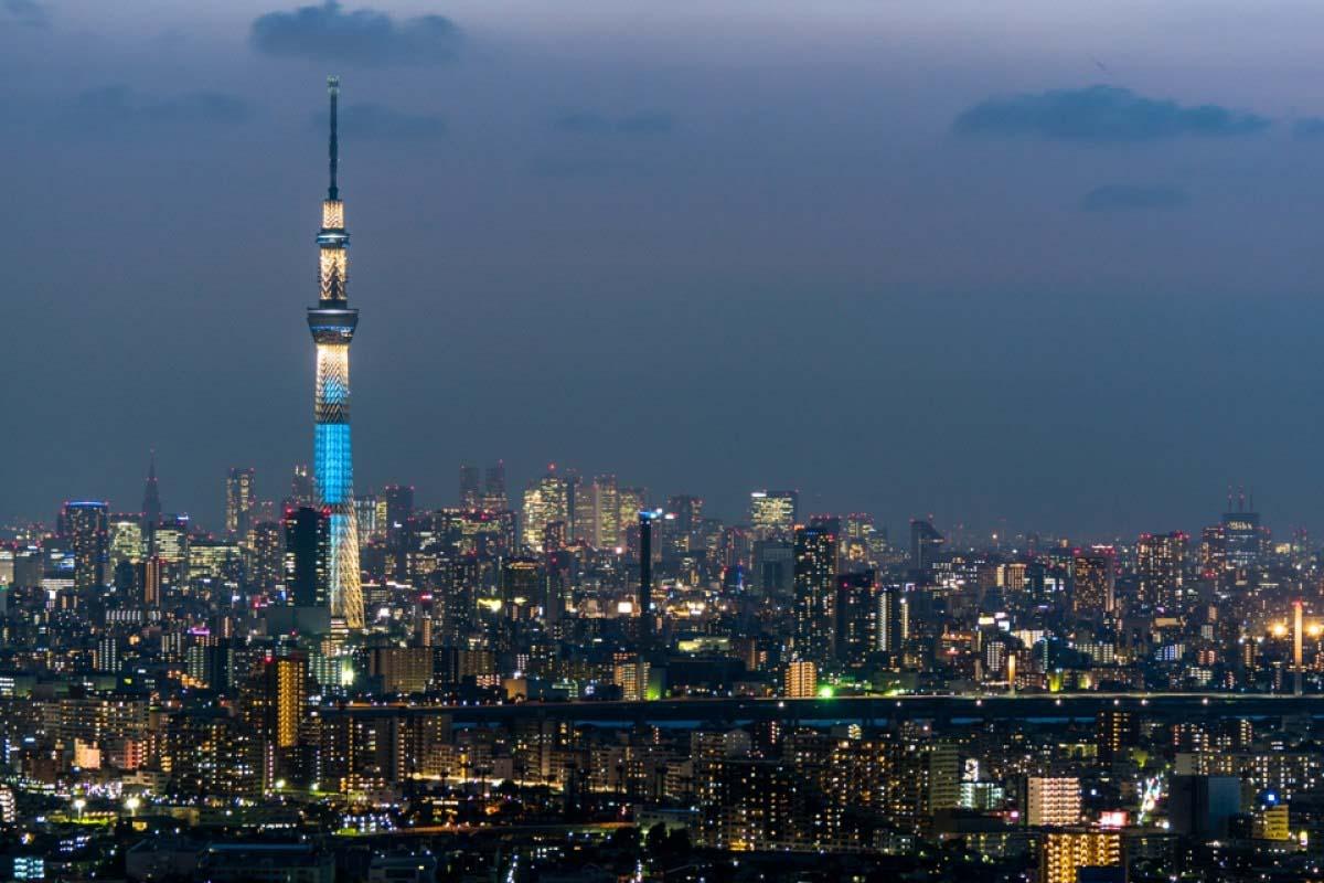 東京タワー スカイツリー
