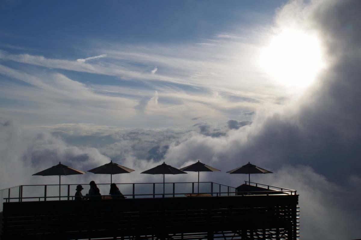 竜王マウンテンパークの雲海