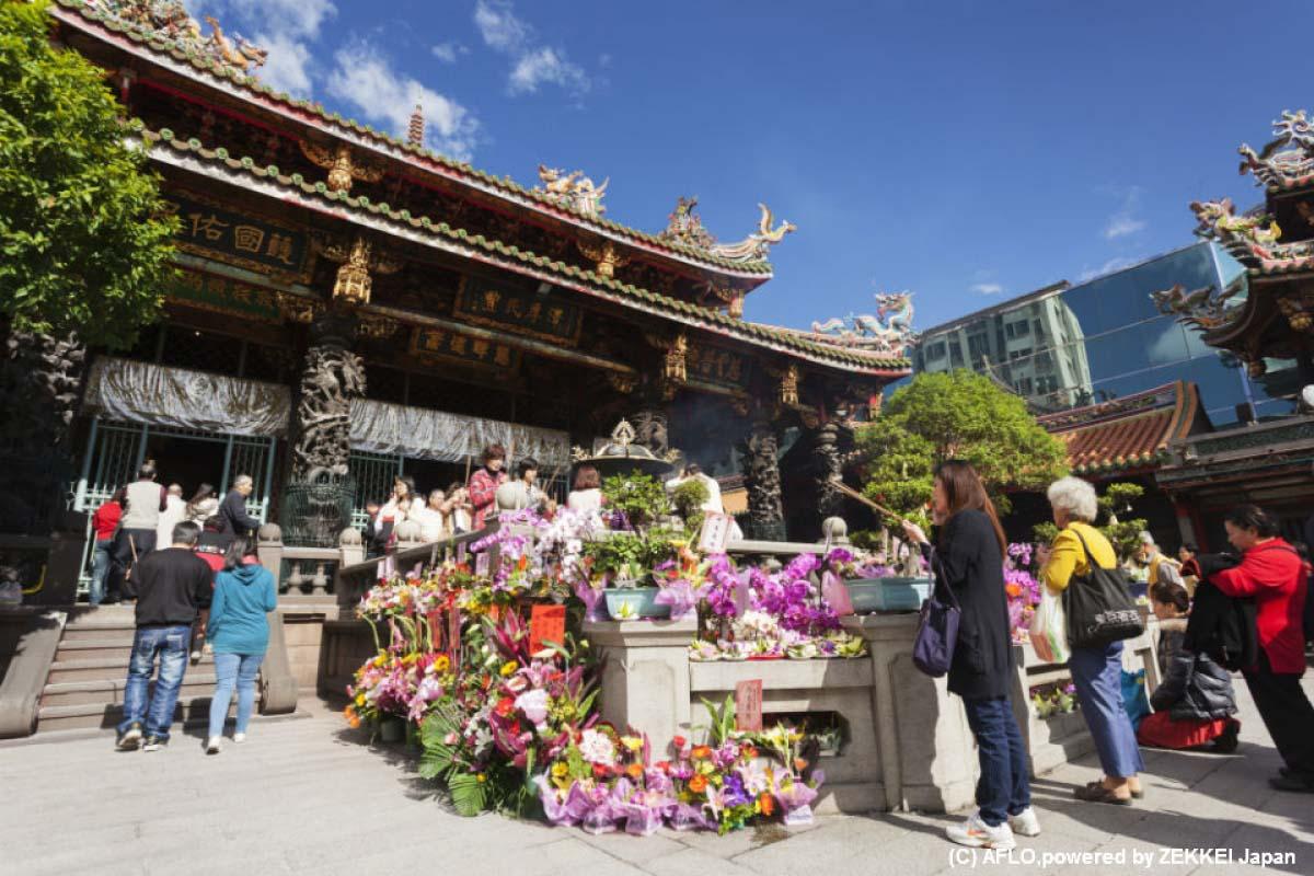 寺廟的供品