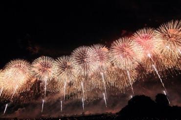 日本夏季三大煙火「長岡花火大會」之參戰遊記