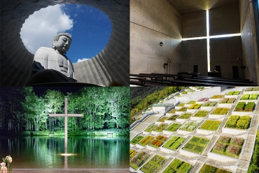 【安藤忠雄の絶景建築】教会三部作から頭大仏まで、日本の安藤建築巡り