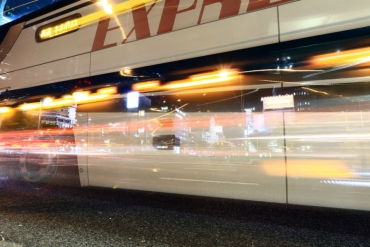Tokyo - Osaka: only Yen 2,210: a highway bus for Japan trip