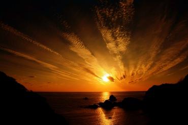 海岸で見る朝焼けの景色に思わず息をのむ!<台湾人留学生の日本旅行記②>