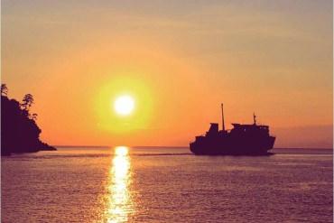 结束伊豆之行的是号称日本最美夕阳的地方<台湾留学生的日本游记⑥>