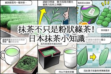 抹茶不只是粉狀綠茶!日本抹茶小知識