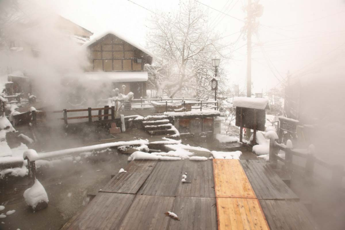 野沢温泉外湯めぐり