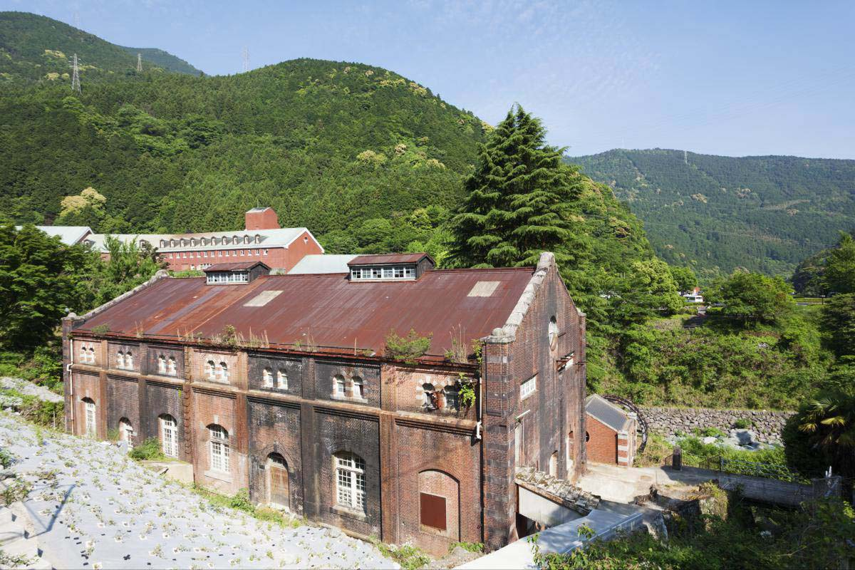 Besshi copper mine