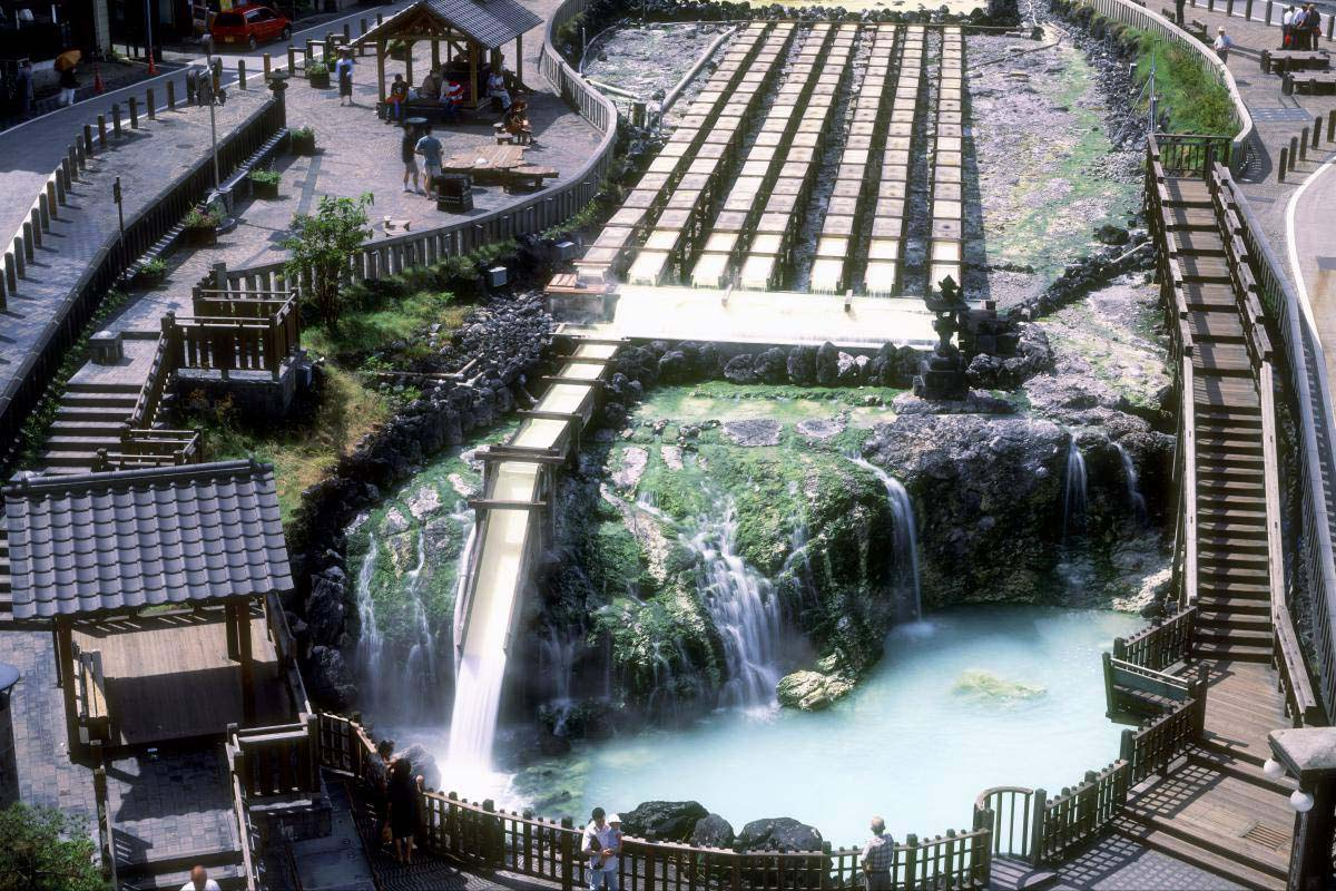 Yubatake(Hot Water Field)