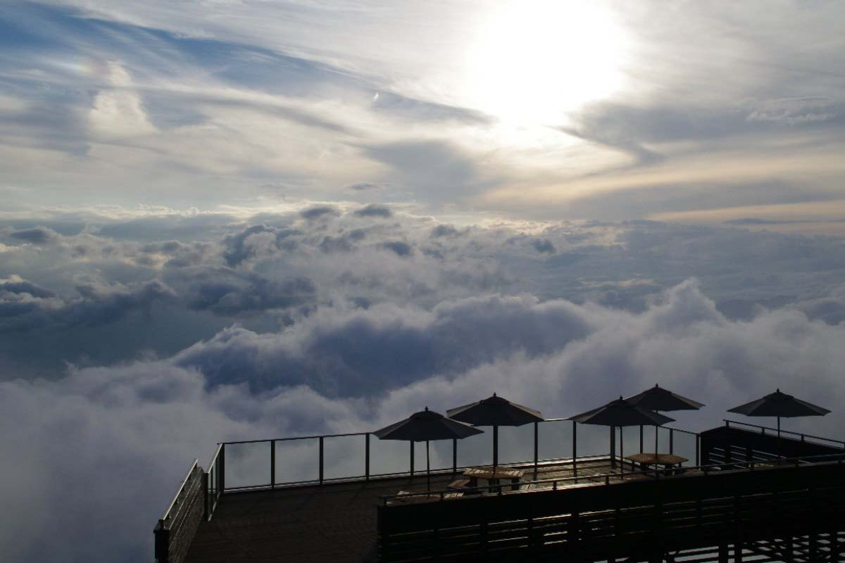 Sea of Clouds at Ryuou Mountain Park