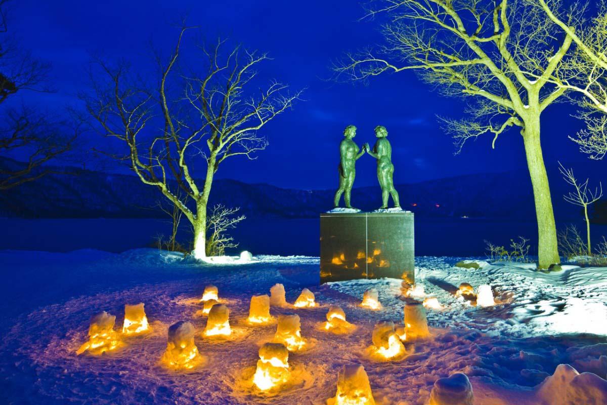 Lake Towada's Winter Story