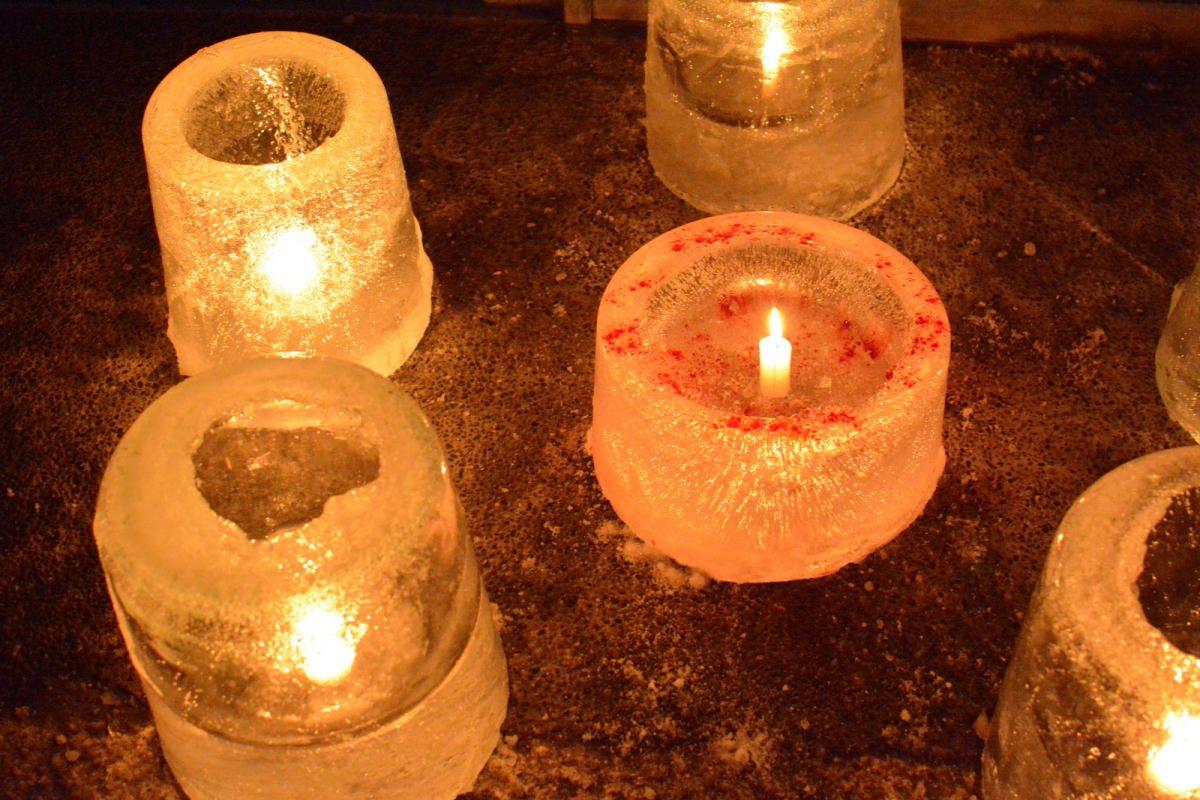 Narai-juku Ice Candle Festival