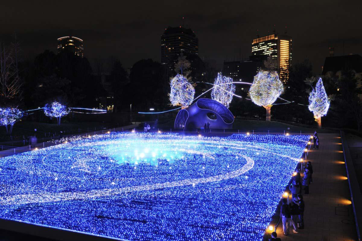 東京中城・聖誕點燈活動