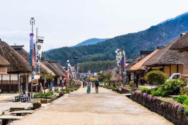 Ouchi-juku(Fukushima)