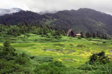 高谷池濕原、天狗之庭