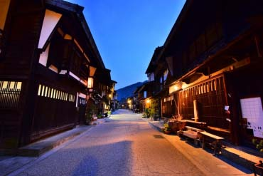 奈良井宿(盐尻市)