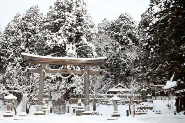 戶隱神社(長野)