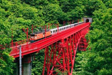 黒部峡谷鉄道 (富山・黒部・立山)