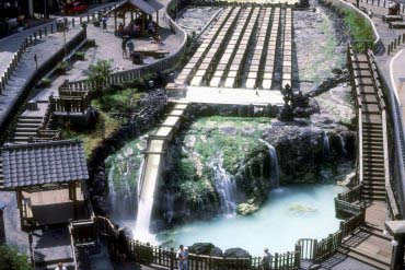 Yubatake(Hot Water Field)