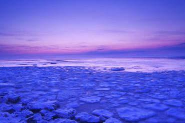 網走の流氷