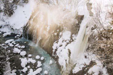 白ひげの滝(富良野・美瑛・層雲峡)