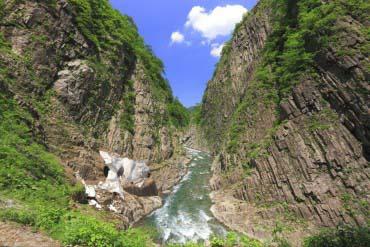 Kiyotsu Gorge(Niigata)