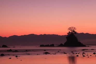 Ameharashi Coast(Toyama)