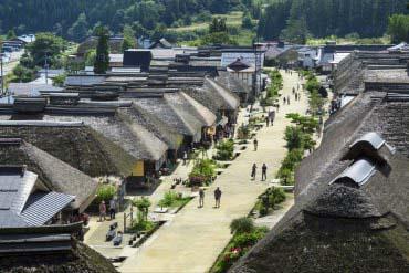 大内宿(福岛)