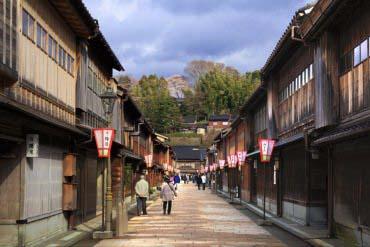 Higashi Chayagai(Kanazawa)