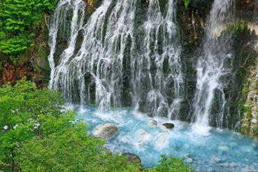 Waterfall of Shirahige(Furano, Biei, Sounkyo Gorge)