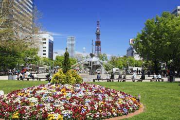 Odori Park(Sapporo & Otaru)