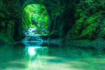 濃溝瀑布(千葉)
