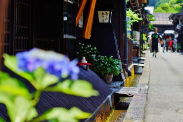 古い町並み(飛騨高山)