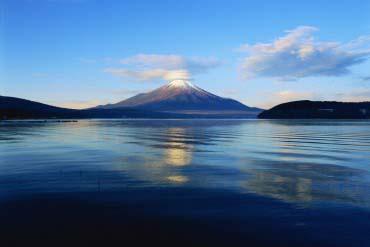 山中湖(富士山)