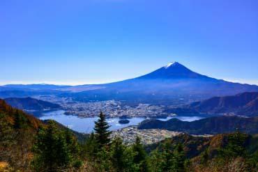 河口湖(富士山)