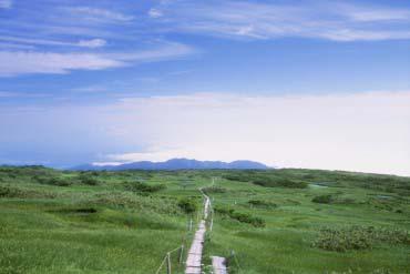 Mt. Gassan, Midagahara Marsh (Yamagata)