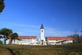 美馬牛小学校の塔