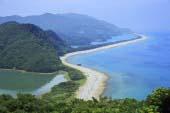 上甑島 長目の浜